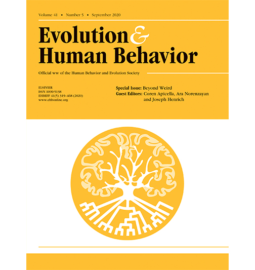 Evolution and Human Behavior Journal